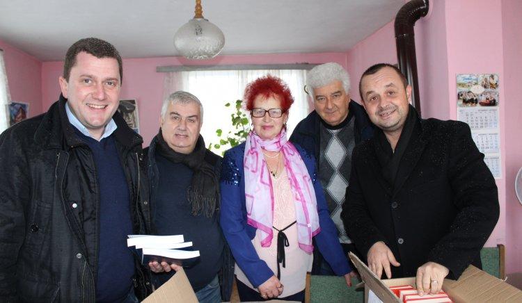 БСП дари книги на пет читалища в община Радомир