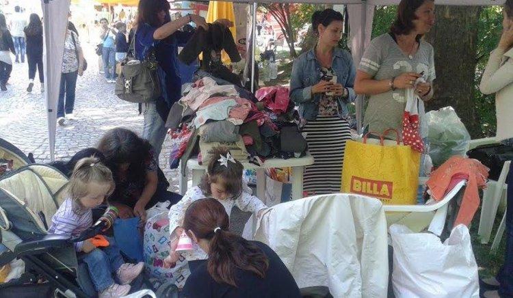 """Традиционният """"Базар за млади майки"""" в Перник и тази година пожъна голям успех"""